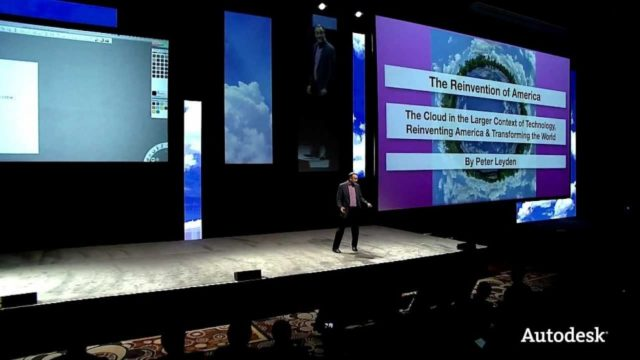 The Cloud in the context of Reinventing America talk